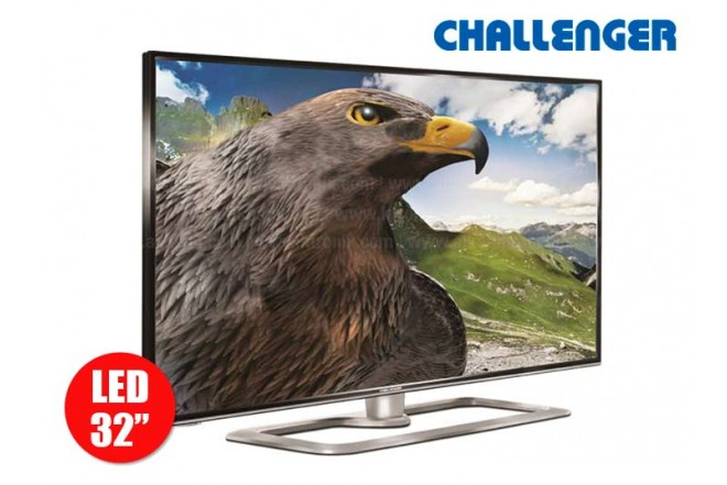 "Tv 32"" 80 cm LED CHALLENGER 32S51 HD Internet"