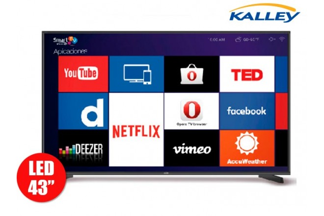 """TV43""""101cm Kall K-LED43FHDSZ T2"""