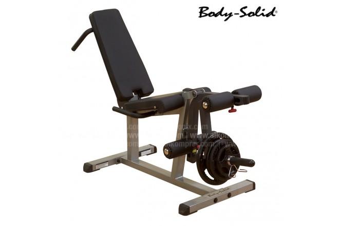 Banco BODY SOLID Leg Curl-Leg Extensión GLCE 365