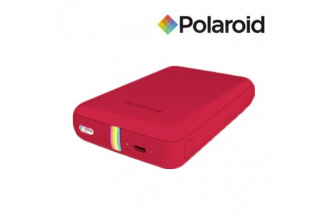 Impresora POLAROID Instantanea Móvil Roja