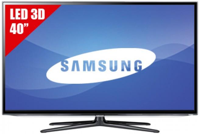 """TV 40"""" LED SAMSUNG 40ES6500 FHD 3D"""