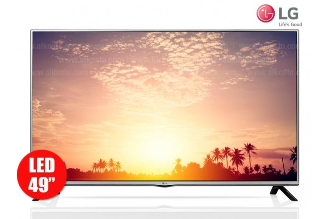 "TV 49"" 124cm LED  LG 49LF640 Full HD Internet"