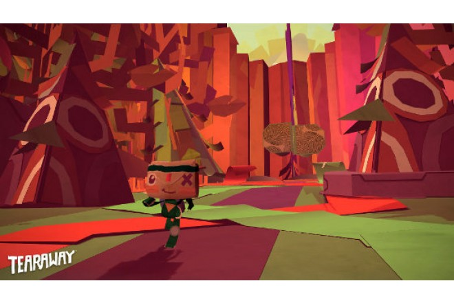 Videojuego PS4 Tearaway Unfolded