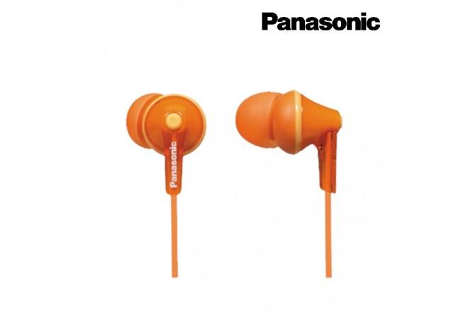 Audífonos PANASONIC Alámbrico InEar HJE125Naranja