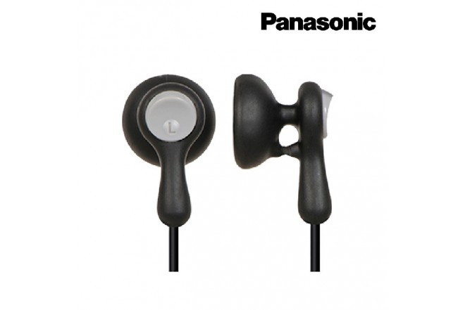 Audífonos PANASONIC Alámbrico InEar HV41 Negro