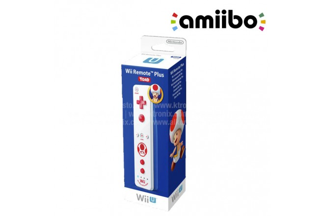 Control WII Remote Plus Toad