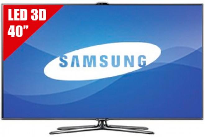 """TV 40"""" LED SAMSUNG 40ES7000 FHD 3D"""
