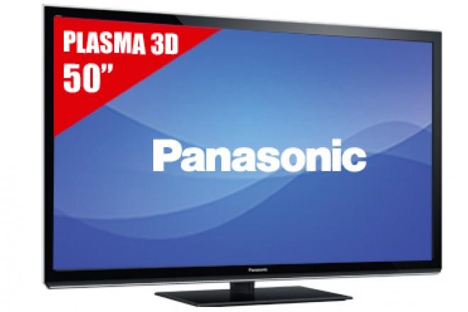 "TV 50"" Plasma PANASONIC 50UT50 FHD 3D"