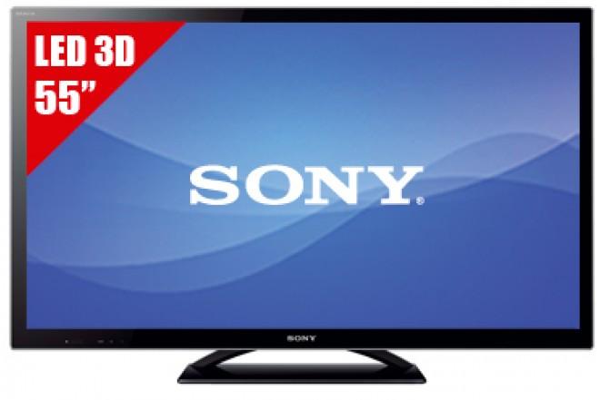 "TV 55"" LED SONY 55HX857 FHD 3D"