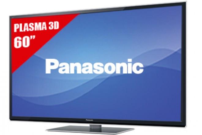 "TV 60"" Plasma PANASONIC 60ST50 FHD3D"