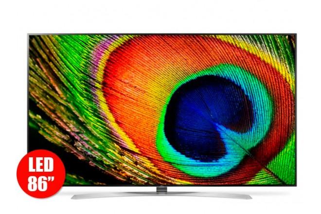 "TV 86"" 217cm LED LG 86UH955T UHD 3D Internet"