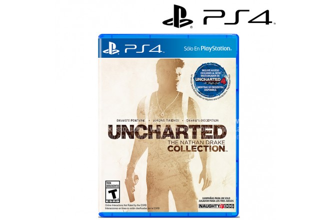 Videojuego PS4 Unchated Collection (Videojuego PlayStation)