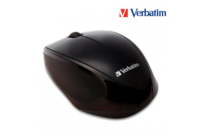 Mouse VERBATIM Inalámbrico LED Negro