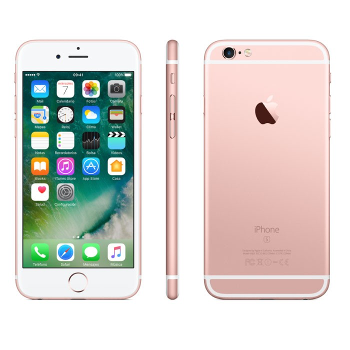celular iphone 6s plus 32gb 4g rosado. Black Bedroom Furniture Sets. Home Design Ideas