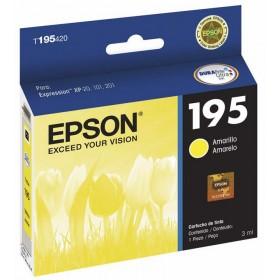 Cartucho EPSON T195420 Amarillo