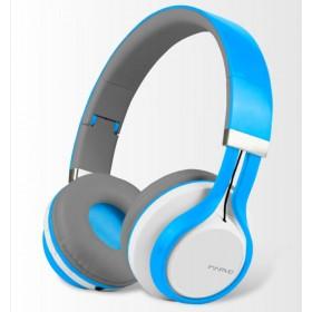 Diadema MARVO OnEar Inalámbrica Bluetooth Azul
