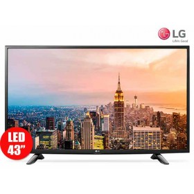 "Tv43"" 109cm LED LG 43UH610T UltraHD Internet"