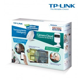 Combo TP-LINK Cámara Cloud + Smart Plug