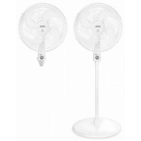 Kombo SAMURAI Ventilador 2 en 1 x 2 Blanco