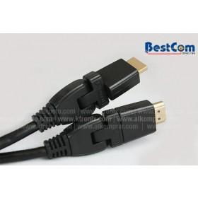 Cable BESTCOM HDMI 30AWG 360° 1.83 M