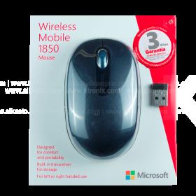 Mouse MICROSOFT Inalámbrico 1850 Azul