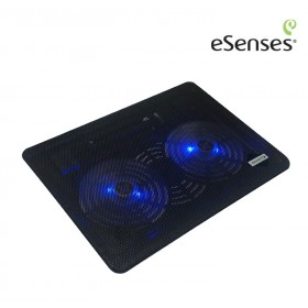 """Base Enfriadora ESENSES 2 ventiladores 14"""""""