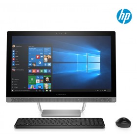 "PC All in One HP 24-B102 A6 23.8"" Plata"