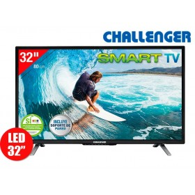 "Tv 32"" 80cm LED CHALLENGER 32T16HD Internet"