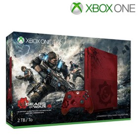 XBOX ONE S 2TB + 1 Control + Videojuego Gears of War 4