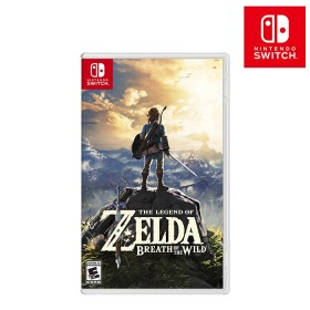 Videojuego Switch Legend of Zelda: Breath of the Wild