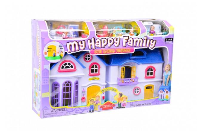 Playset familia feliz Keenway