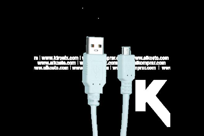 Batería Recargable USB/Micr 3000 mAh Azul