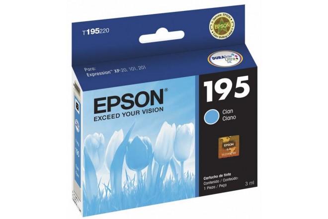 Cartucho EPSON T195220-AL Cian