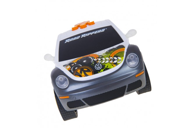 Vehiculo Dancing CarROAD RIPPERS - TOY STATE Volswagen Beetle Blanco