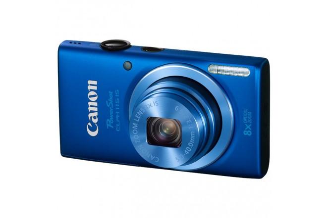 Cámara CANON ELPH115 Azul + Estuche + Memoria 8G
