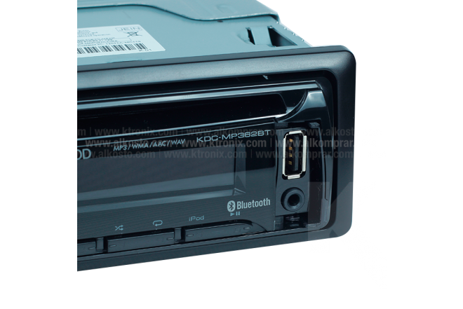 Radio Auto KENWOOD KDC-MP362BT