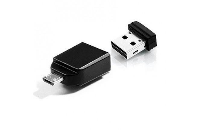 Memoria VERBATIM Nano USB 16 GB con adaptador