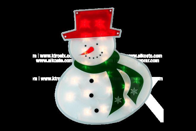 Hombre De Nieve Ventana 43.1 cm