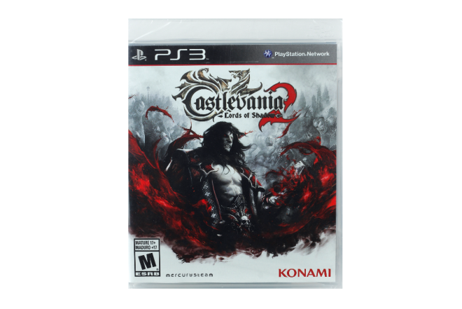 Vídeo Juego PS3 Castlevania Lord of Shadows