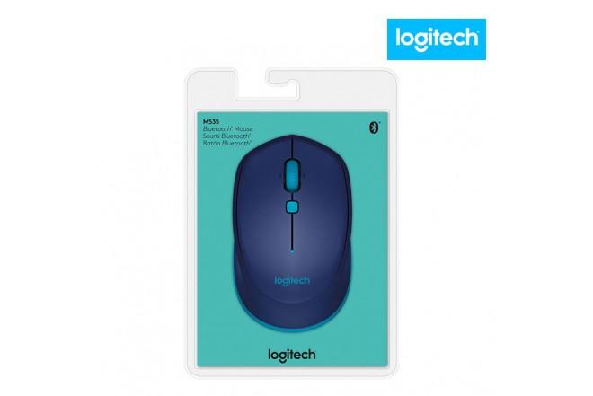 Mouse LOGITECH Bluetooht M535 Azul