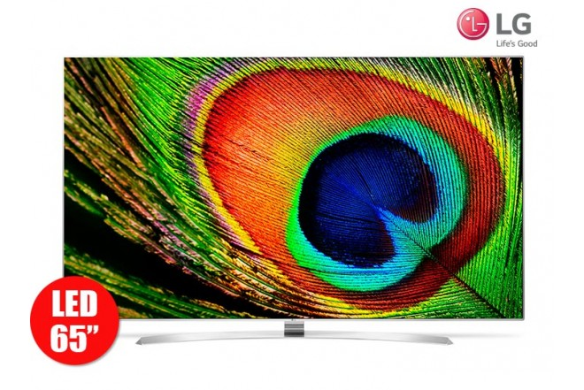 "Tv 65"" 165cm LED LG 65UH950T UltraHD Internet"