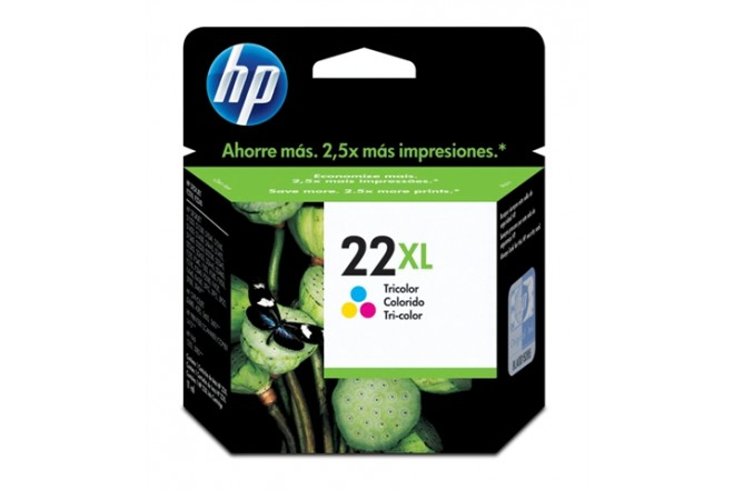 Cartucho HP 22XL Tricolor