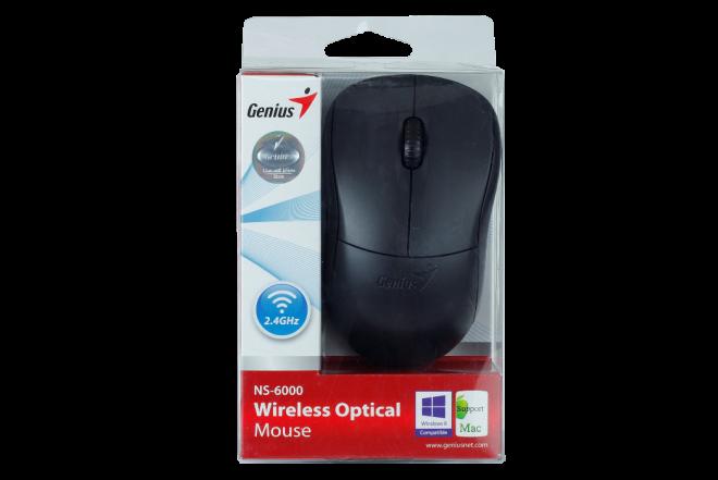 Mouse GENIUS Inalámbrico Negro