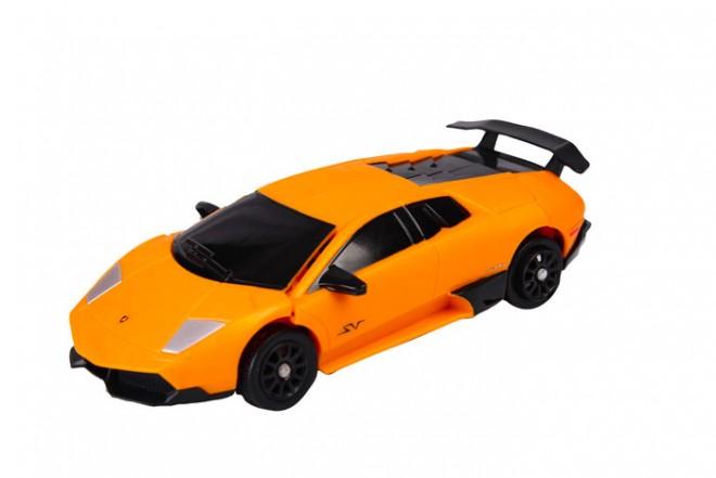 Robót doble Lamborghini transformer Roadbot Happy Well Naranja