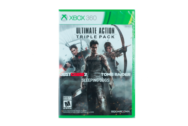 Video Juego XBOX 360 Ultimate Action Triple Pack