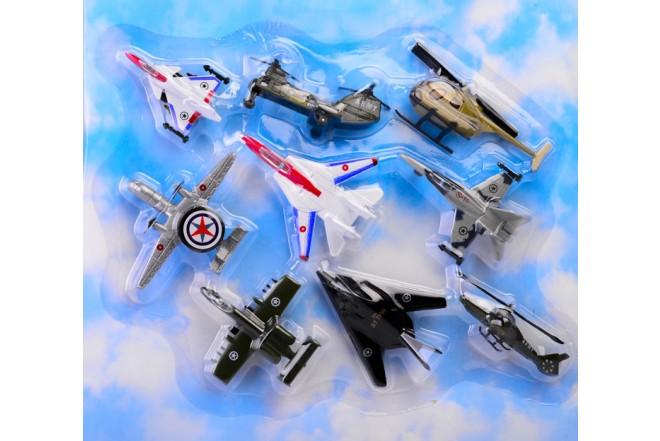 Set Fuerza aerea 9 piezas Express Wheels