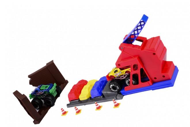 Set salto monster truck Express Wheels