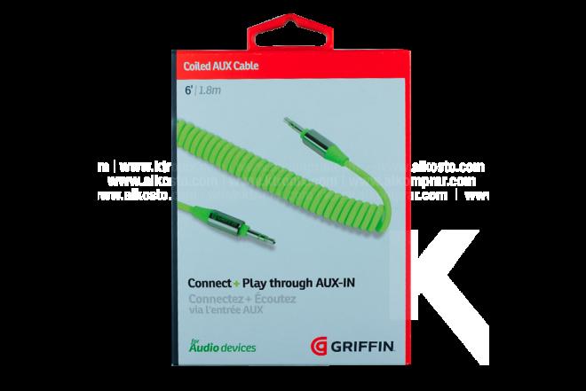 Cable GRIFFIN Espiral Uno/Uno 1.8 M Citrus