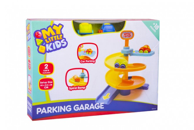 Garage parqueo Happy line my little kids