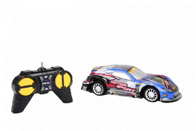 Auto deportivo radio control escala 1:20 Happy Line Azul